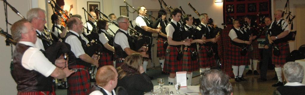 ladies and gentlemen, ….THE Comox Valley Pipe Band!!!!!