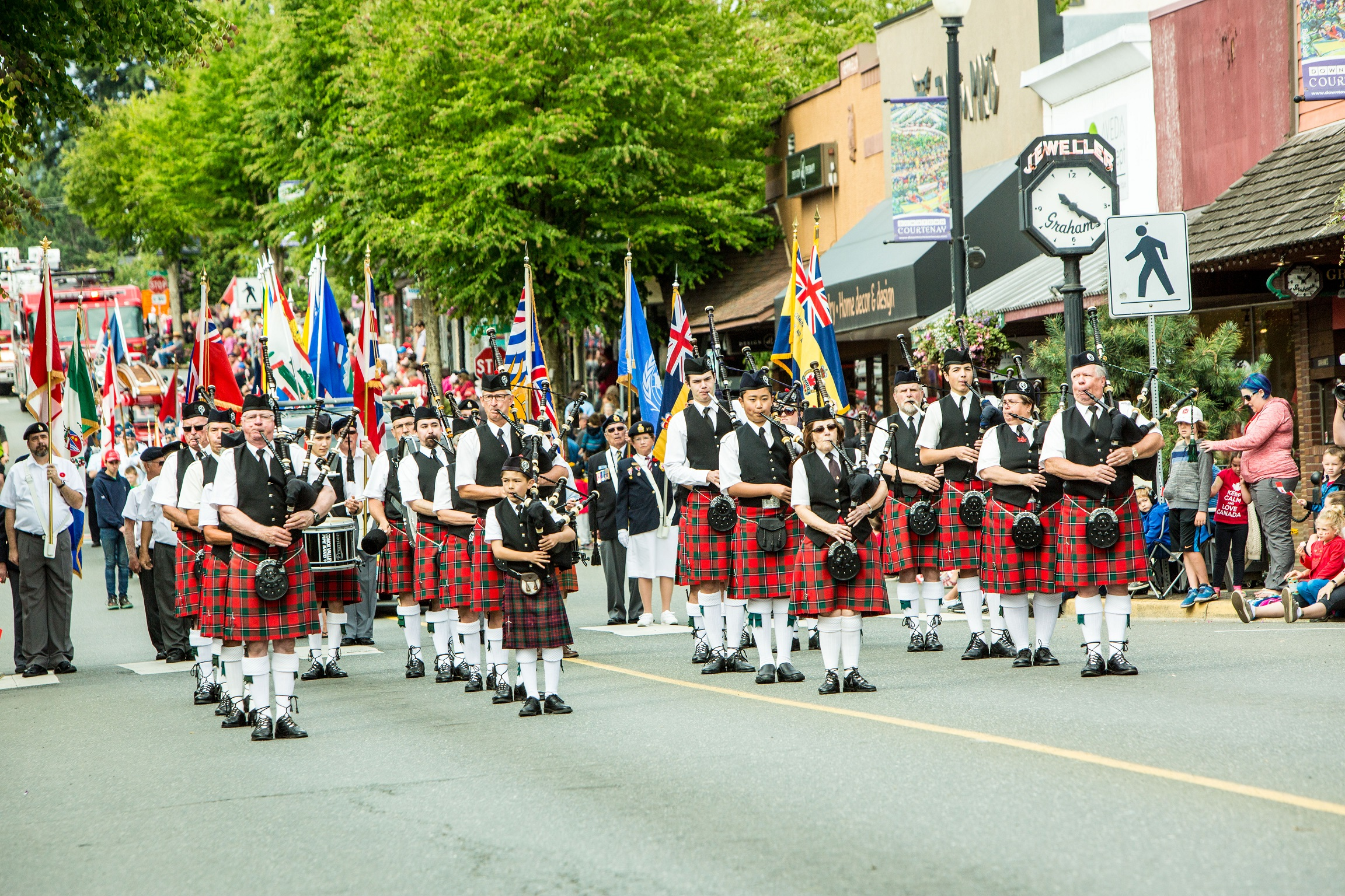 Canada Day Parade in Courtenay 2018