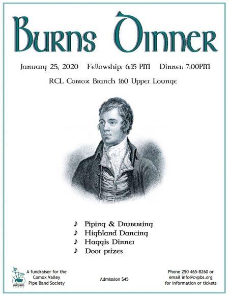 2020 Burns Dinner